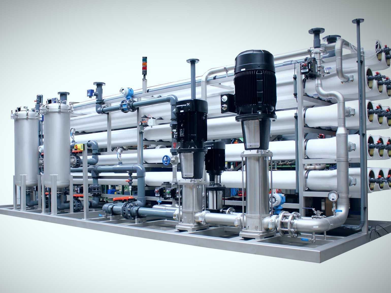 reverse osmosis turbin duitsland