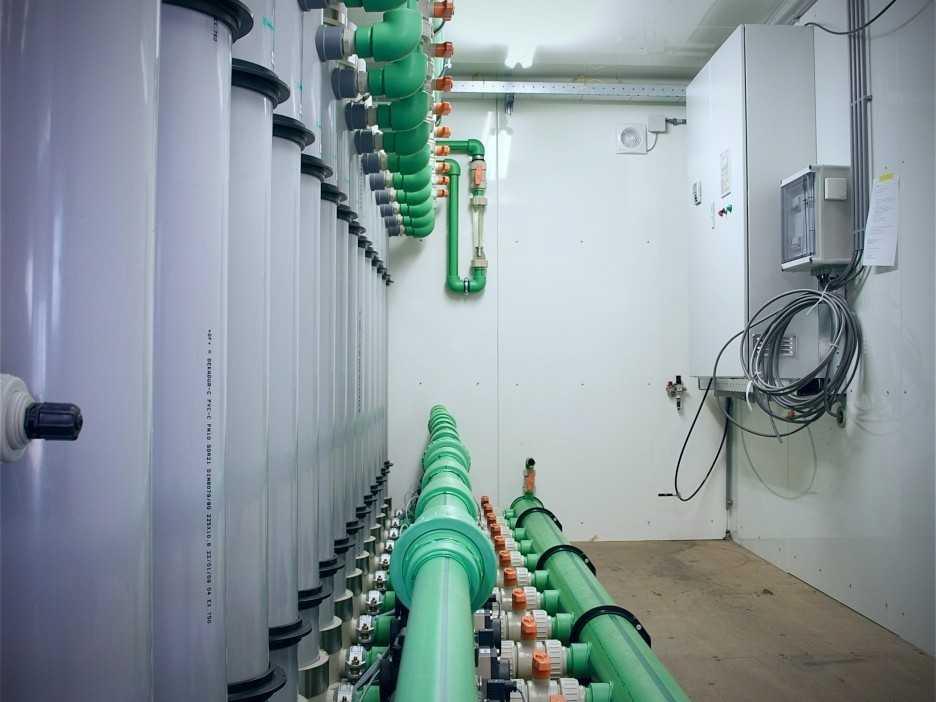 ultrafiltratie waterbehandeling industrie