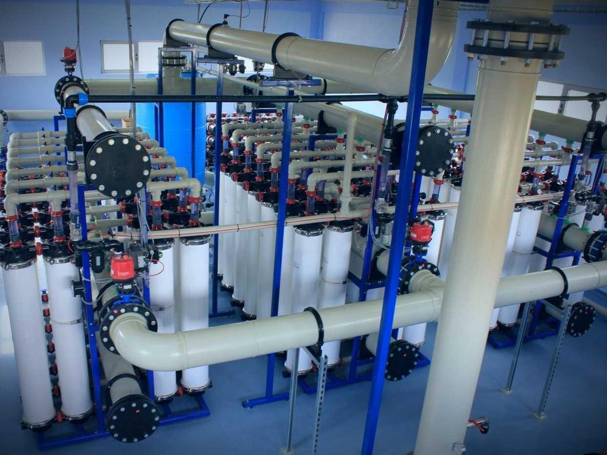 ultrafiltratie waterbehandeling kosovo